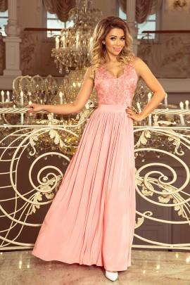Платье NUMOCO 215-4 розовая пастель