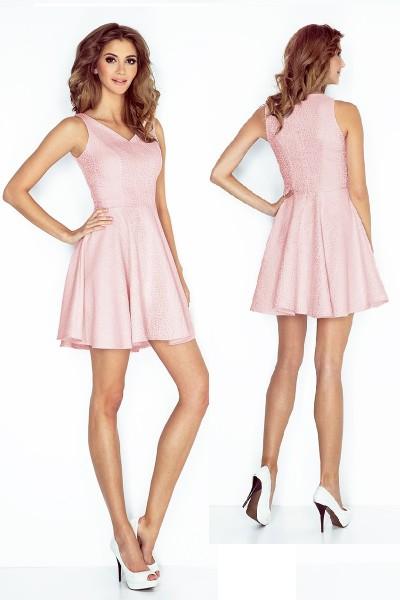 Платье MORIMIA 014-5 розовая пастель