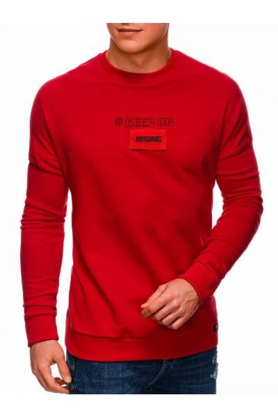 Свитшот  OMBRE B1314 czerwona