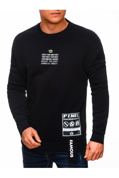 Свитшот OMBRE B1326 czarna