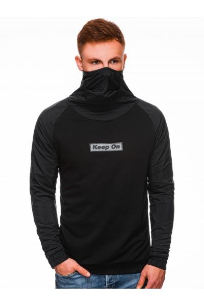 Блуза OMBRE B1327 czarna