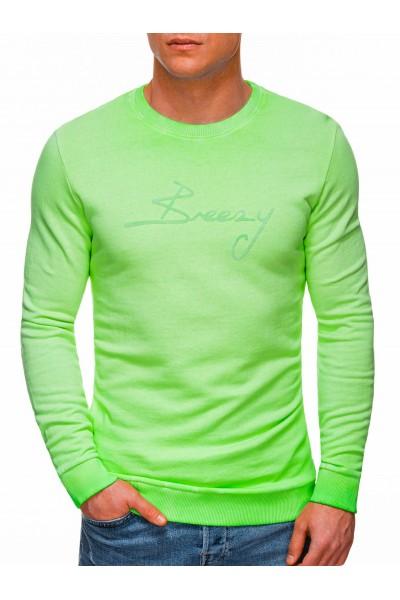 Свитшот OMBRE B1341 - zielona