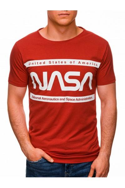Футболка OMBRE S1435 - czerwony