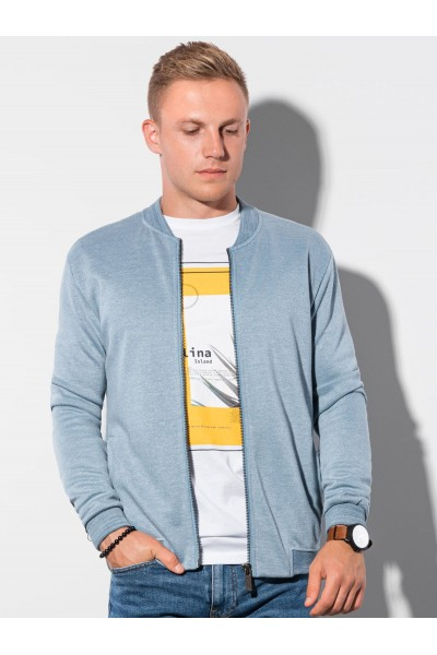 Блуза OMBRE B1214-niebieska
