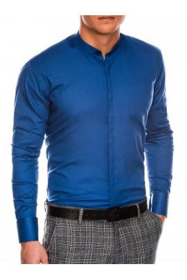 Рубашка OMBRE K307-jasnogranatowa