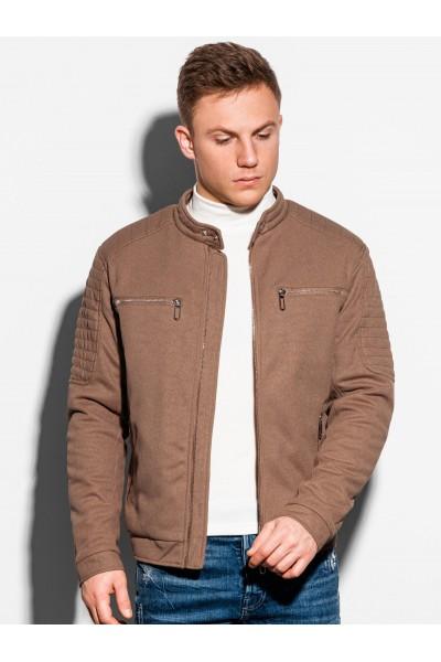 Куртка OMBRE демисезон C461-brazowa