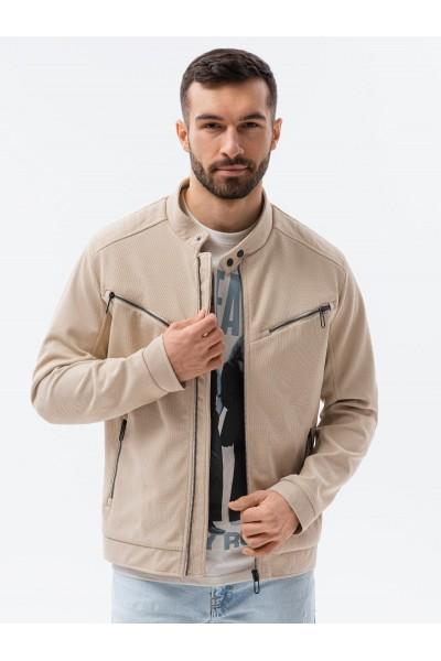 Куртка OMBRE демисезон C480-bezowa