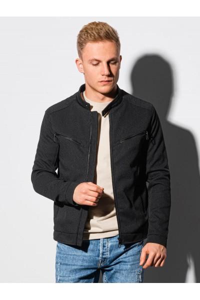 Куртка OMBRE демисезон C480-czarna