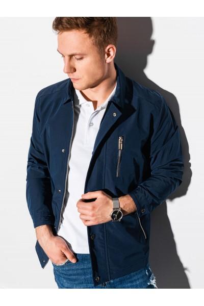 Куртка OMBRE демисезон C482-granatowa