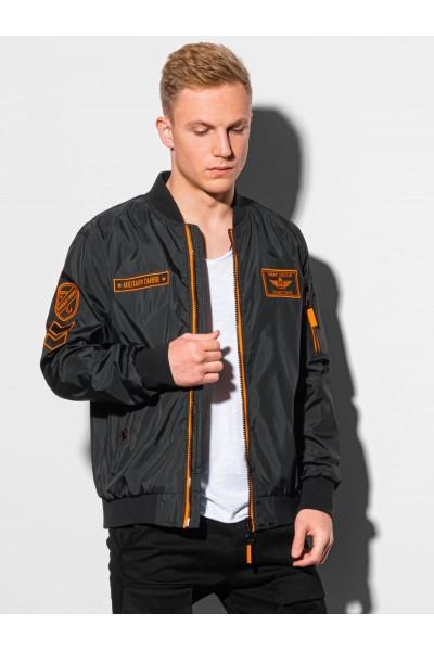 Куртка OMBRE демисезон C485-czarna