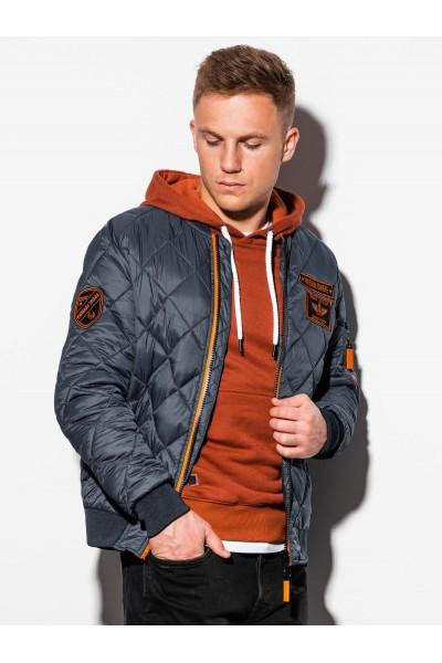Куртка OMBRE демисезон C357-szara