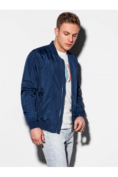 Куртка OMBRE демисезон C439-granatowa