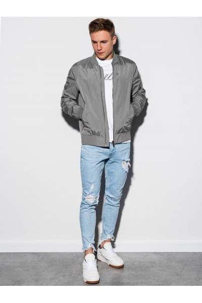 Куртка OMBRE демисезон C439-szara