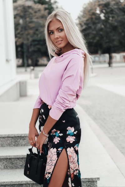 Блуза OMBRE LLR001 fioletowa