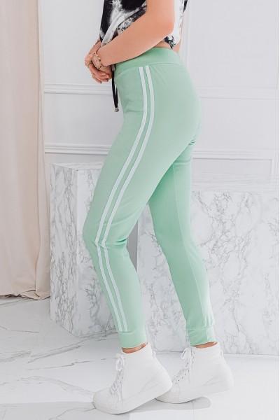 Велюровые брюки OMBRE PLR051 zielone