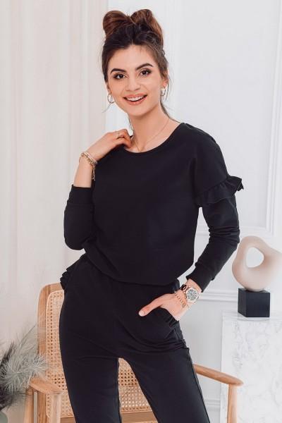 Блуза OMBRE TLR006 czarna