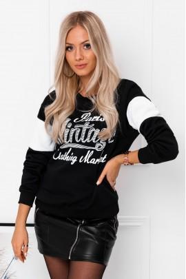 Блуза OMBRE TLR023 czarna