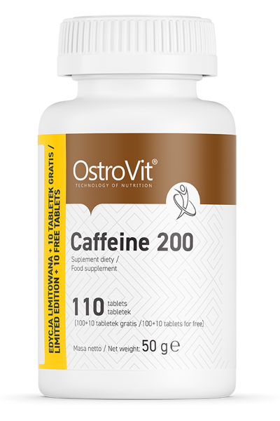 OstroVit Caffeine 200mg 110 tabs - кофеин