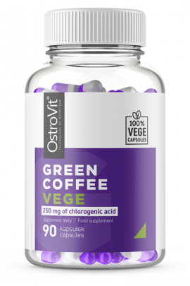 OstroVit Green Coffee VEGE 90 vcaps - для похудения