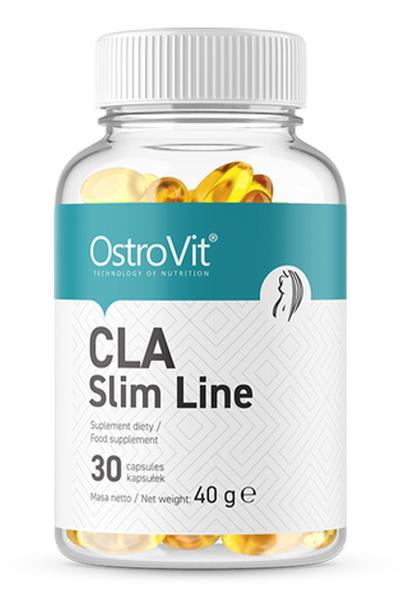 OstroVit CLA Slim Line 30 caps - линолевая кислота с CLA