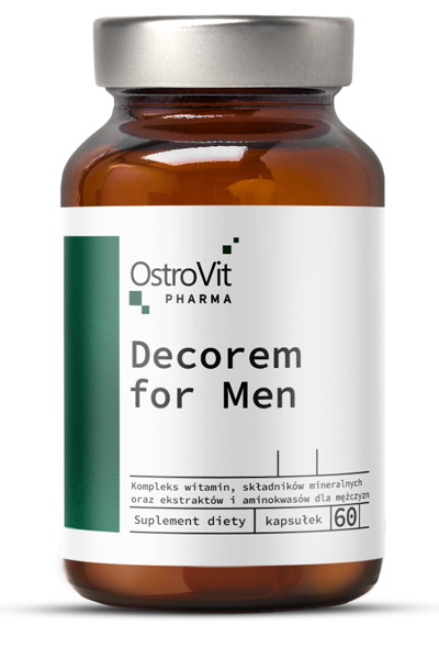 OstroVit Pharma Decorem For Men 60 caps для мужчин