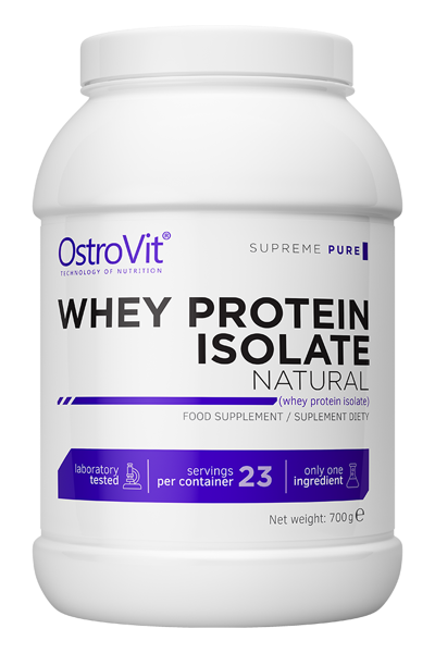 OstroVit Supreme Pure Whey Protein Isolate 700g - протеин-натурал