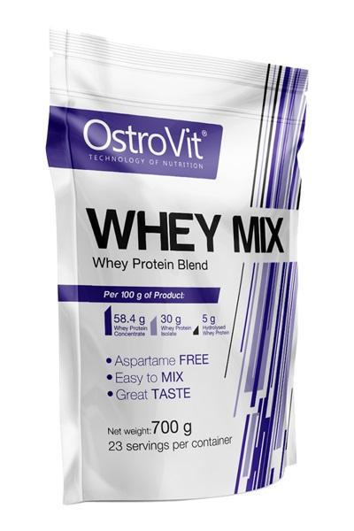 OstroVit Whey Mix 700 g - протеин - вкус шоколад-кокос