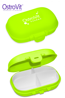 OstroVit Pharma Pill Box зелёный