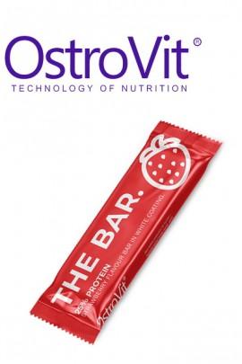 OstroVit THE BAR. 60 g клубника протеиновый батончик