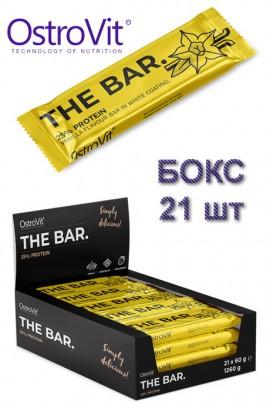 OstroVit THE BAR. 60 g x 21 BOX ваниль протеиновые батончики