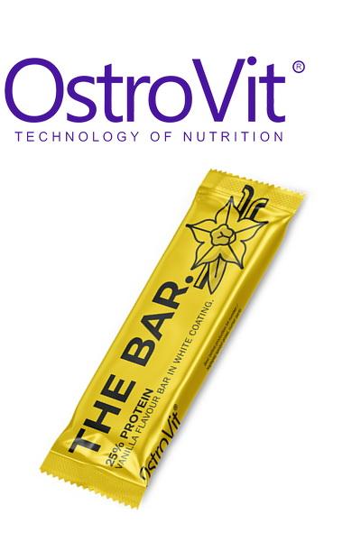 OstroVit THE BAR. 60 g ваниль протеиновый батончик