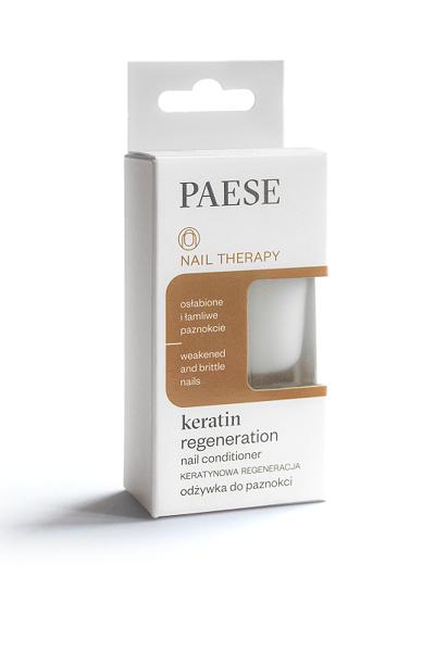 Кондиционер PAESE кератиновая регенерация ослабленных ногтей 8 ml