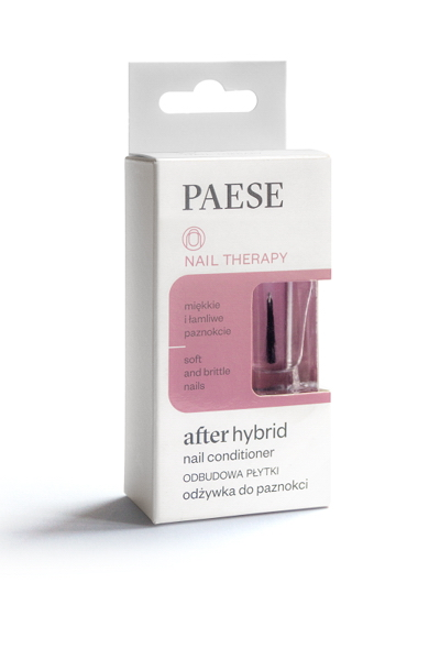 Кондиционер PAESE для ломких ногтей после гибридного маникюра After hybrid 8 ml