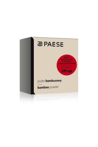 Пудра PAESE bambusowa для жирной кожи 8 g