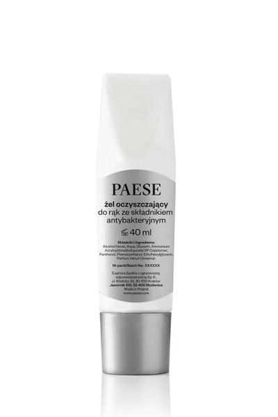 Гель для рук PAESE очищающий 40 ml