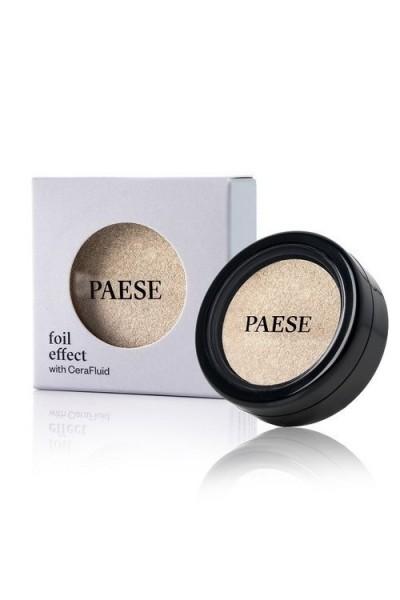 Тени для век PAESE с эффектом фольги 315