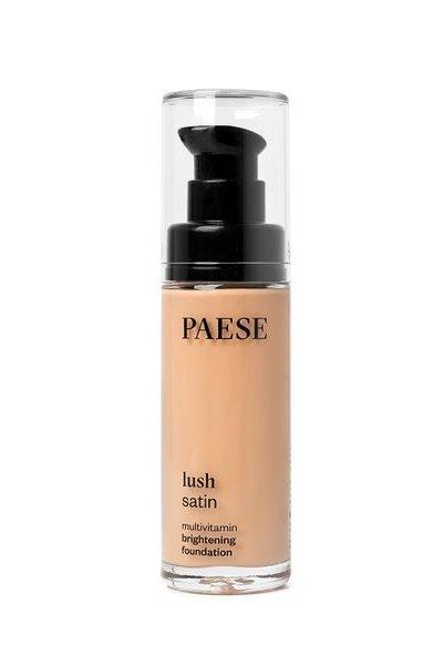 Тональный крем PAESE Lush Satin с витаминами 30 ml тон 32
