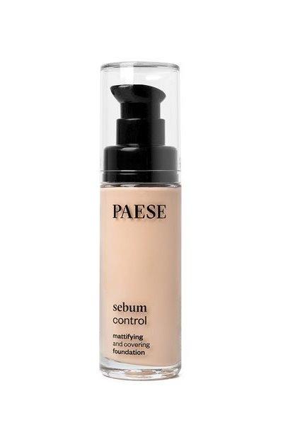Тональный крем PAESE SEBUM CONTROL для жирной и комб.кожи 30 ml тон 400