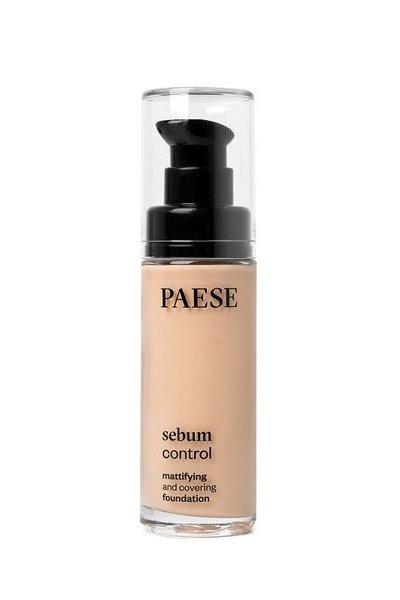 Тональный крем PAESE SEBUM CONTROL для жирной и комб.кожи 30 ml тон 401