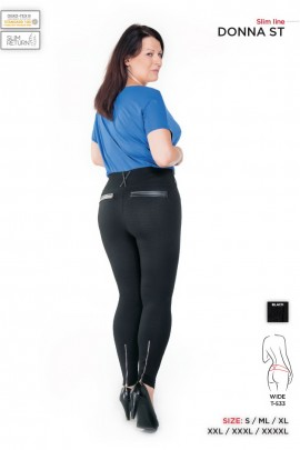 Брюки DONNA ST wide PLUS SIZE