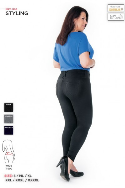 Брюки STYLING wide PLUS SIZE