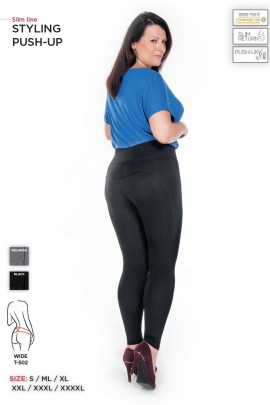 Брюки STYLING PUSH-UP wide PLUS SIZE