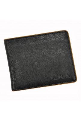 Pierre Cardin YS17 8806 чёрный-кэмел кошелёк муж.