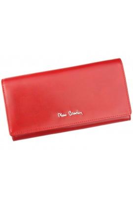 Pierre Cardin 01 LINE 106 красный кошелёк жен.