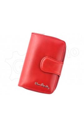 Pierre Cardin 01 LINE 115 красный кошелёк жен.