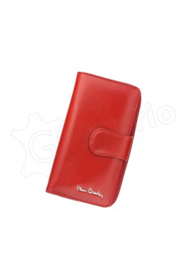 Pierre Cardin 01 LINE 116 красный кошелёк жен.