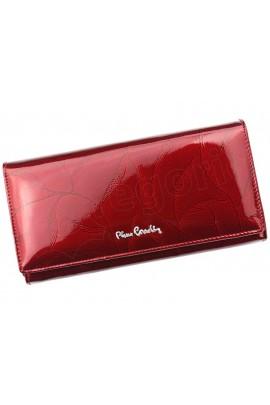 Pierre Cardin 02 LEAF 106 красный кошелёк жен.