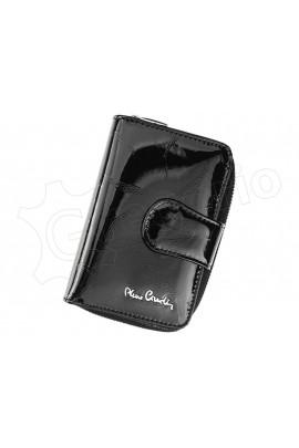 Pierre Cardin 02 LEAF 115 чёрный кошелёк жен.