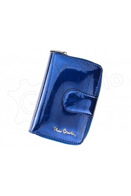 Pierre Cardin 02 LEAF 115 синий кошелёк жен.