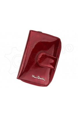 Pierre Cardin 02 LEAF 115 красный кошелёк жен.